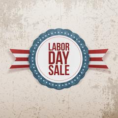 Labor Day Sale festive Banner