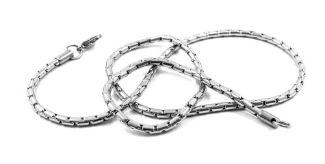 Necklace - Stainless Steel - Men's