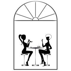 Girls in Bar