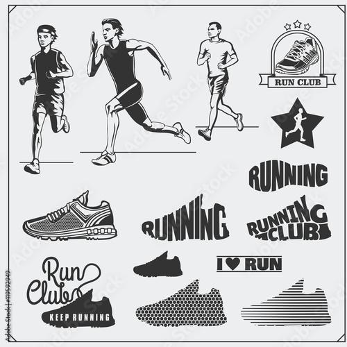 Running Shoe Emblems