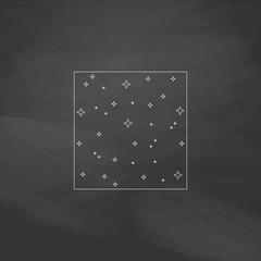 Starry night computer symbol