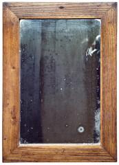 Wooden Mirror Cutout