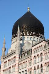 Kuppel der Yenidize Tabakmoschee in Dresden Deutschland