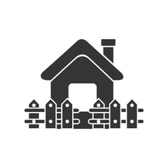 house home real estate isolated vector illustration eps 10