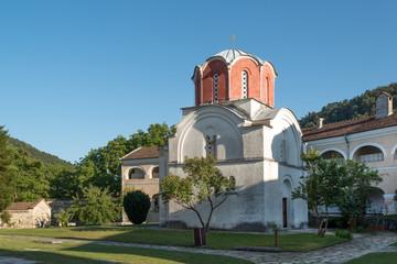 XII century Studenica Serbian Orthodox Monastery in Serbia
