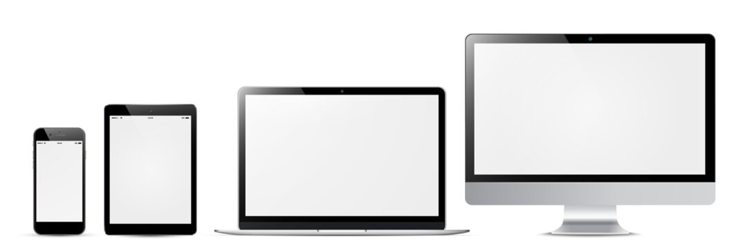 Digital devices with a blank screen