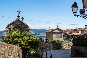 Town of Combarro, Pontevedra in Galicia (Spain)