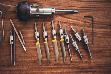 Tools for jewelry engraving