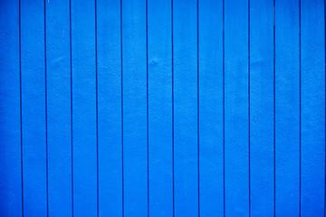 Blue wooden textured deck background.