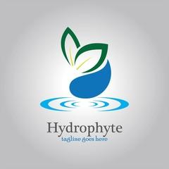 hydrophyte logo template