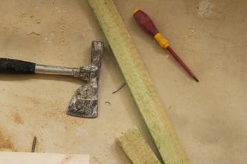 Baustelle Werkzeug