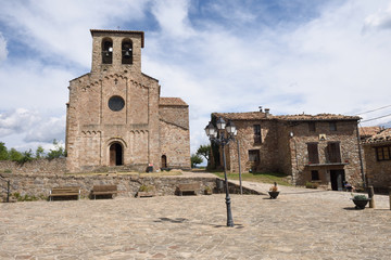 Village of Sant Jaume de Frontenya, Barcelona province,Catalonia