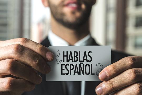 Do You Speak Spanish? (in Spanish)