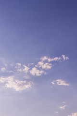 beauty sky surface with small clouds