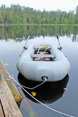 inflatable boat berth