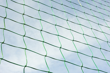 Green Net Against The Sky