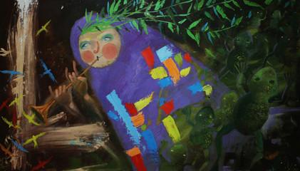 oil paintings spring