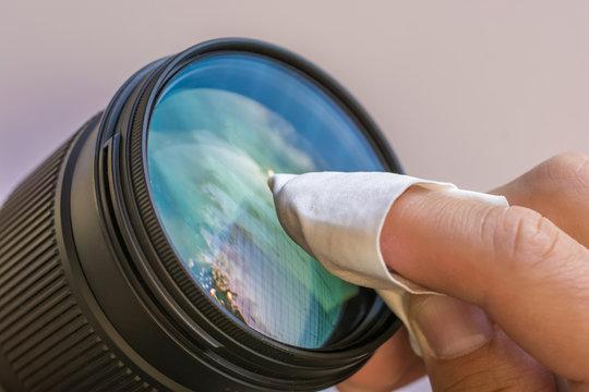 Reinigung des Objektives für bessere Bilder
