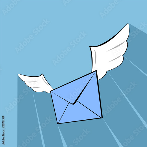 Nice mail symbol stock image and royalty free vector - Mail ouvert nice ...
