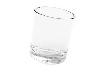 empty glass or shot, 3D rendering