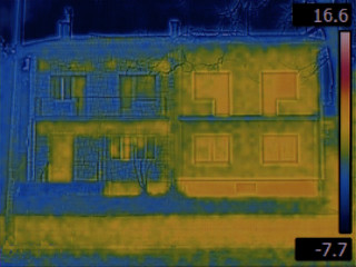Semi Detached Houses Infrared