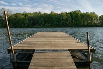 Lake Marburg in Codorus State Park, Pennsylvania
