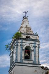 Tower bell of San Jose Church in Casco Viejo - Panama City, Panama