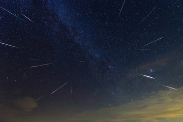 Perseid Meteor Shower outburst 2016