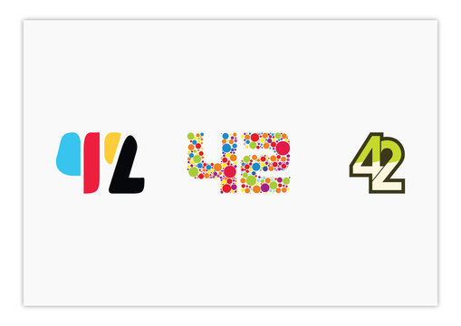 42 - Compilation of 42 designs tempalte