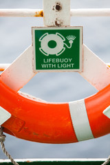 Lifebuoy color detail