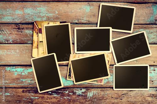 blank photo album