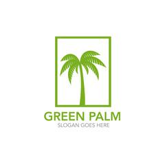 palm  green logo icon