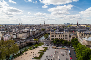 Vista da Notre Dame