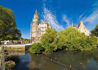 La cathédrale Notre-Dame d'Évreux, Eure, Normandie
