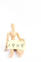 デッサン人形と算数