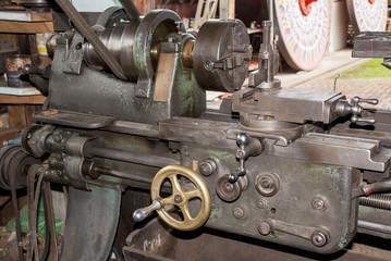 Inside an old Cart Factory - Costa Rica