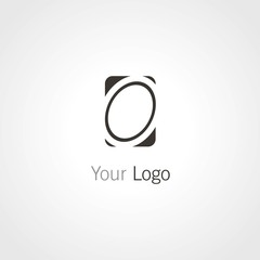 oval abstract logo
