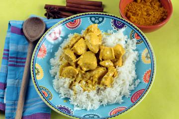 poulet au curry et lait de coco 03092016