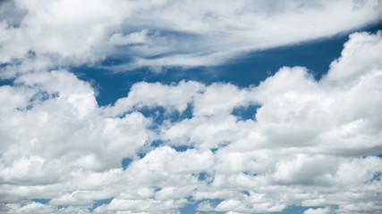 Beautiful white cloudscape