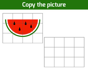 Copy the picture, Watermelon