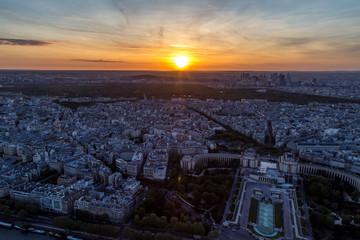 Vista dalla torre Eiffel