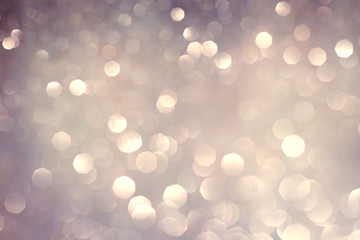 abstract bokeh holiday background, shining lights