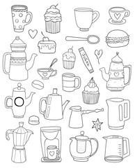 Tea, Coffee and Desserts