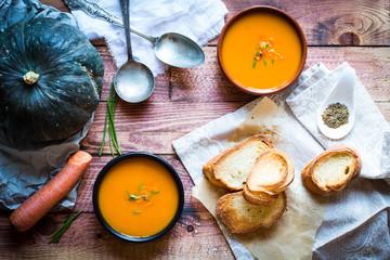 Vegan Creamy Delicious  Pumkin Soup