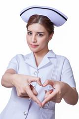 Young woman asian nurse