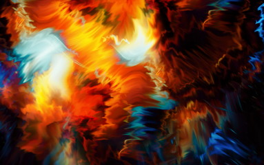 Abstract background and color effect and structure.