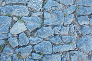 Fotobehang - texture of the stone wall