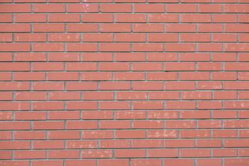 Fotobehang - The Great Wall of red bricks