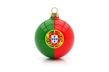Weihnachtskugel Portugal
