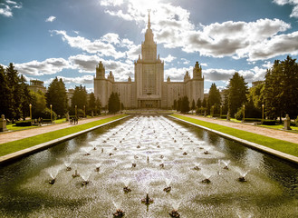 Moscow State University (MGU) on Sparrow Hills